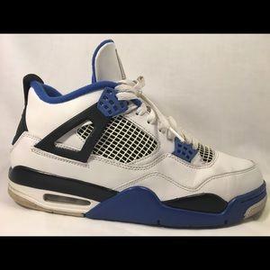 Jordan Shoes - Nike Air Jordan 4s Blue sz 10